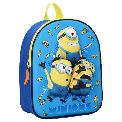 MINIONS 3D малка раница за момче