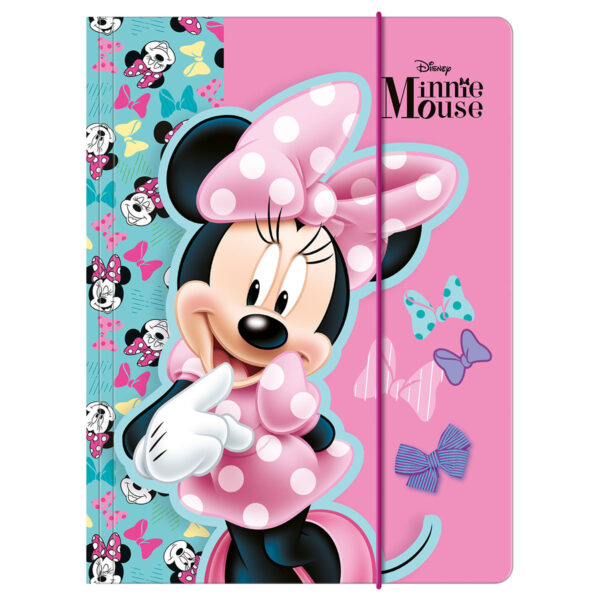 MINNIE MOUSE 26 папка с ластик