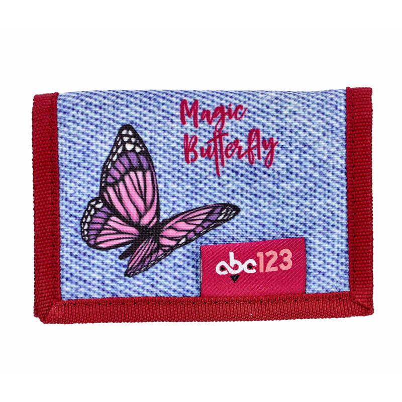 ABC123 BUTTERFLY детско портмоне
